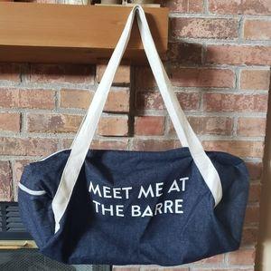 Meet Me At The Barre Yoga Bag